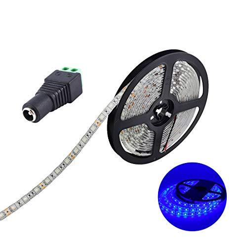 JOYLIT Striscia LED Blu SMD5050 300led IP65 impermeabile 5 metri DC12V di altezza striscia di led...
