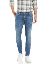 Nudie Jeans Unisex Skinny Lin Jeans Mid Authentic Power