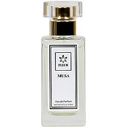 Musa Eau de Parfum für Damen/Femme/Women , Kaschmir-Sandelholz-Ginger Duft , Parfümzerstäuber Vaporisateur Spray, 1 x 30 ml