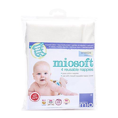 Bambino Mio, miosoft pannolino, taglia unica, confezione da 4