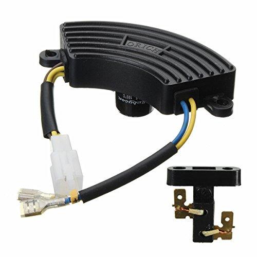 FATO. 2-3 KW AVR regulador de voltaje automático Generador Monofásico + cepillo de carbón