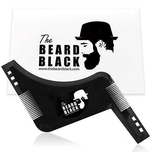 Barba plasmare e strumento di styling con pettine integrato per una perfetta line up e bordatura, usare con un trimmer la barba o rasoio per lo stile la barba e peli sul viso