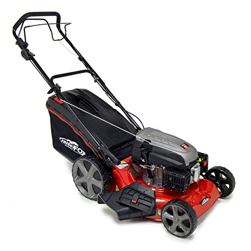 "The Frisky Fox PLUS 20"" QUAD-CUT Self Propelled Petrol Lawn Mower is a great example of a powerful and practical mower that has been designed to tackle heavy duty jobs."