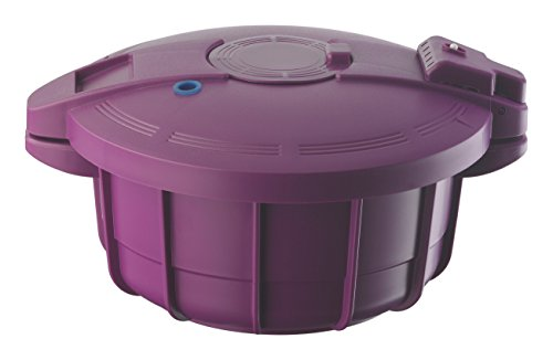 Prestige plastica 35x 30cm microonde pentola a Pressione-Viola, Polipropilene, Purple, 35 cm