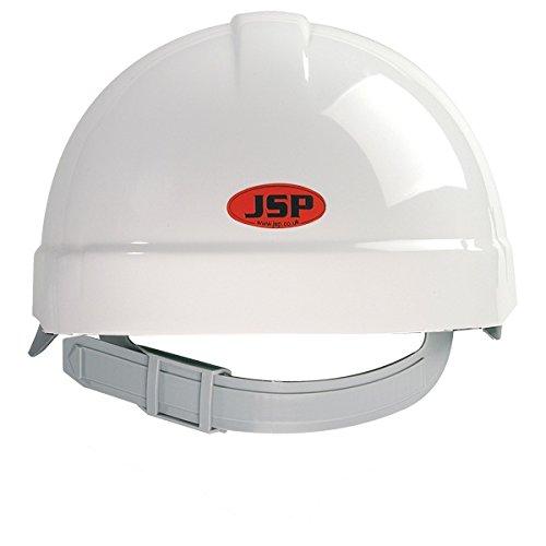 AES - Casco de seguridad estándar, color blanco