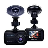 TOGUARD Mini Dash Cam Full HD 1080P Car Dash Cams DVR Dashboard Camera Built in G-Sensor Motion Detection Loop Recording?SD Card is NOT Included?