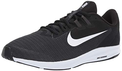 Nike Herren Downshifter 9 Laufschuhe, Schwarz (Black/White-Anthracite-Cool Grey 002), 41 EU