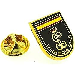 Pin de Traje del Escudo Guardia Civil Cifra y Bandera