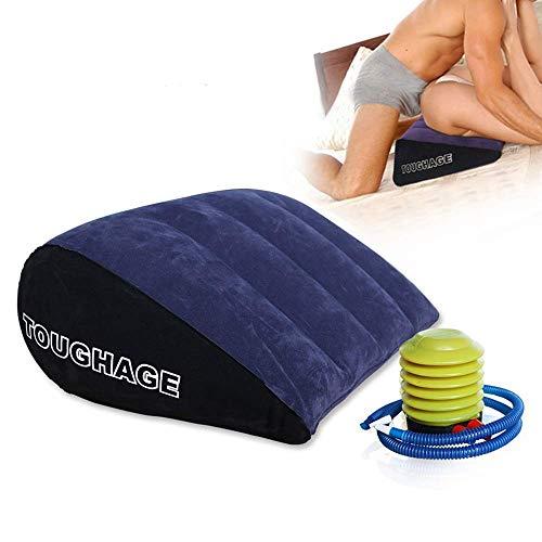Cuscino gonfiabile del cuscino di viaggio del cuscino del letto del cuscino del letto del cuscino del cuscino di yoga del cuscino gonfiabile del triangolo