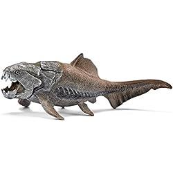 Schleich- Figura dinosaurio Dunkleosteus. Depredador de los mares.Color gris, 6,5cm