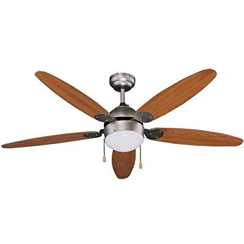 Ventilatore Da Soffitto 65w Cod. 70922 Vinco 5 Pale
