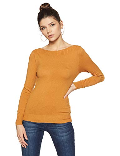 Qube By Fort Collins Women's Sweater (CH103_Coffee_M)