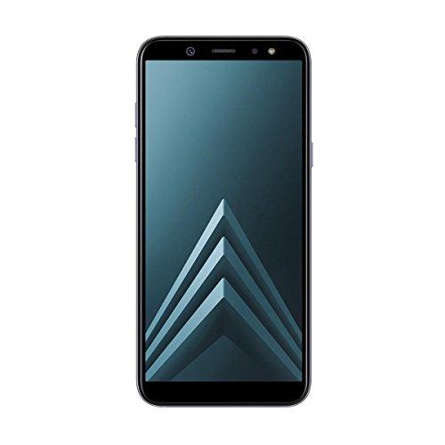 """Samsung Galaxy A6 - Smartphone libre Android 8,0 (5,6 HD+), Dual SIM, Cámara Trasera 16MP + Flash y Frontal 16MP + Flash, Lavender, 32 GB 5.6"""" - Versión española"""