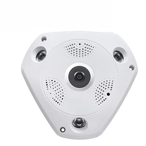 Whhhherr 3G4G Panoramica 360 gradi Webcam Wireless Wifi HD Monitoraggio intelligente Telefono cellulare Telecomando VR Visione notturna Telecamera protettiva for esterni Telecamera for esterni Pan Zoo