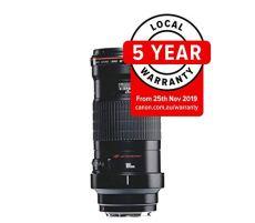 Canon EF 180 mm f/3.5 L USM - Objetivo para Canon (distancia focal fija 180mm, apertura f/3.5) negro