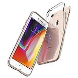Spigen Coque iPhone 7, Coque iPhone 8 [Liquid Crystal] Transparente, Souple en Silicone, Adhérence Parfaite, Anti-Trace Compatible avec iPhone 7/8