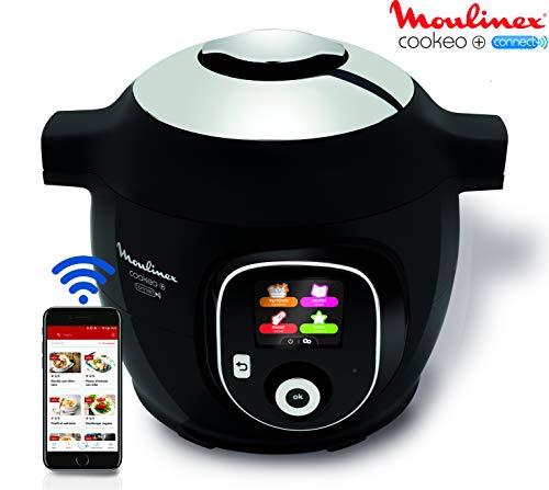 Moulinex Multicuiseur Intelligent YY2942FB Cookeo + Connect Application connectée via Bluetooth