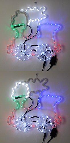 Christmas-Concepts-Train-de-Cordes-Lumineuses-avec-Roue-Clignotante-fume-57cm-x-63cm-clairages-LED-Multicolores