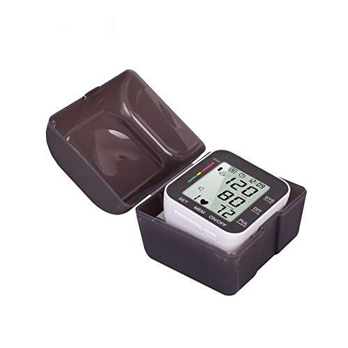 WANGXN Monitor di Pressione sanguigna da Polso per Uso Domestico Misuratori Automatici e Memoria...