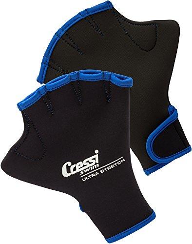Cressi UnisexErwachsene Swim Gloves Schwimmhandschuhe Schwarz Medium
