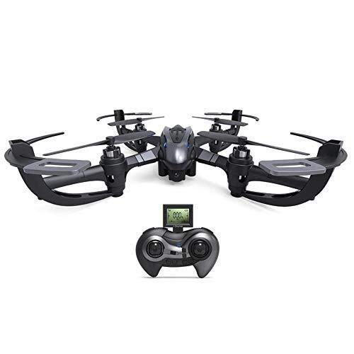 FLYSXP Drone A Quattro Assi Giroscopico, Drone A 6 Assi A 4 Canali, Versione 3D Senza Rotazione RTF modalità Senza Ritorno con Un Pulsante Drone remoto