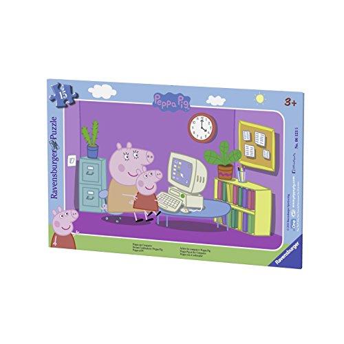 Ravensburger Italy Puzzle incorniciato per Bambini, 06123