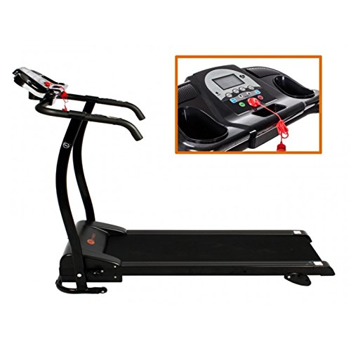 SG - Cinta de correr de 1500 W plegable, con pantalla LED