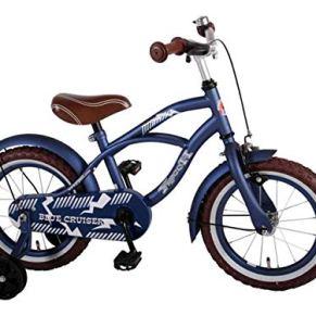 YIPEEH Cruiser Bicicleta de niño, Niños, Azul