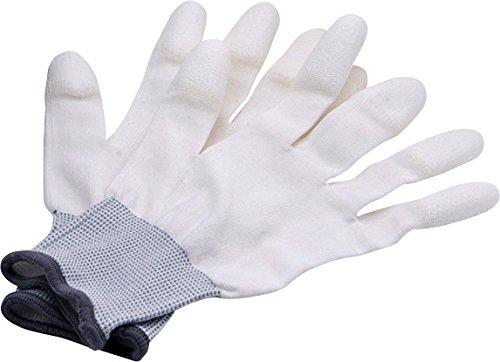 Rollei Lens Cleaning Gloves, Paio di Guanti per la Pulizia di Obiettivi, Antistatici (Taglia M)