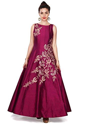 Globalia Creation Women\'s Taffeta silk dress   party wear dresses ...