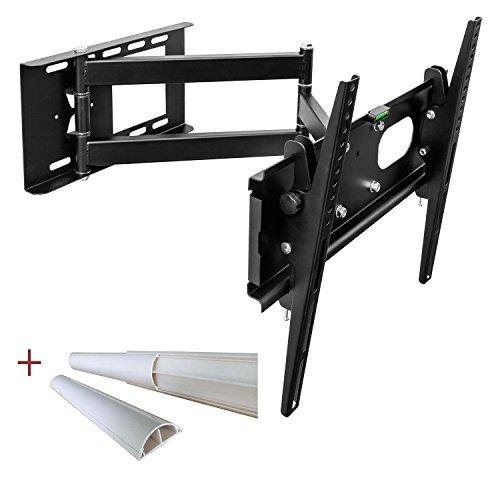 TV universale montaggio a parete Staffa Tilt Swivel per il plasma LED LCD televisori fino a 165 cm...