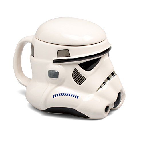 Star Wars - Taza de cerámica, diseño de Stormtrooper