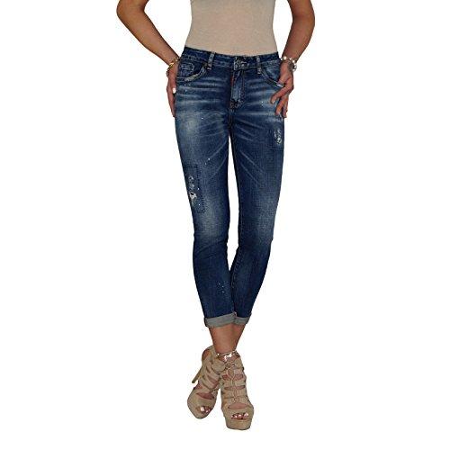 BD Damen High Waist Jeans