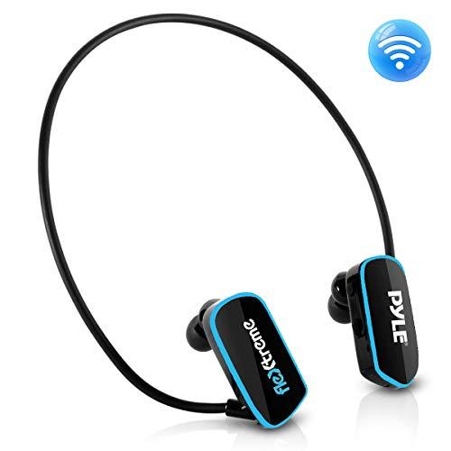 Pyle Flextreme impermeable de los deportes portátil MP3 auriculares reproductor de música 8 GB bajo el agua Natación Jogging Walking Gimnasio auriculares