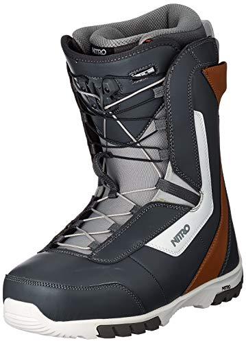 Nitro Snowboards Sentinel TLS '20 All Mountain Freestyle - Scarponi da snowboard da uomo, con...