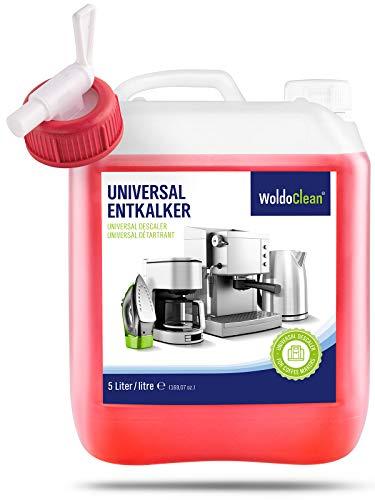 Decalcificante Macchine Caffe Anticalcare Decalcificatore 5 litri - Compatibile con DeLonghi...