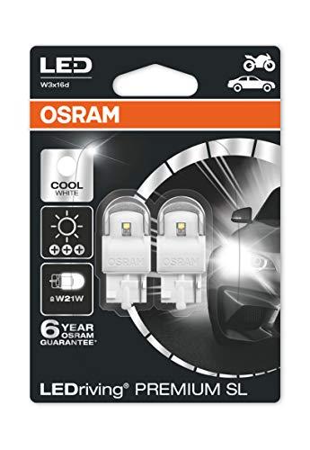 OSRAM 7905CW-02B LED Retrofit, Bianco Freddo, W21W, Set di 2