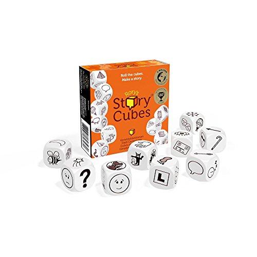Asmodee - Story Cubes, juego educativo [versión alemana]