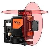 Tacklife SC-L04 Professionnel Niveau Laser Croix 30 m à 360°/...