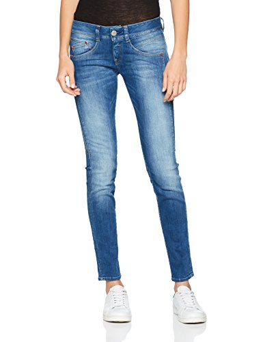 Herrlicher Damen Jeans Gila Slim, Blau (Bliss 634), W26/L32...