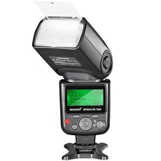 Neewer 750II TTL Flash Speedlite con Pantalla LCD para Nikon D7200 D7100 D7000 D5500 D5300 D5200 D5100 D5000 D3300 D3200 D3100 D3000 D700 D600 D500 D90 D80 D70 D60 D50 y Otras Cámaras Nikon DSLR