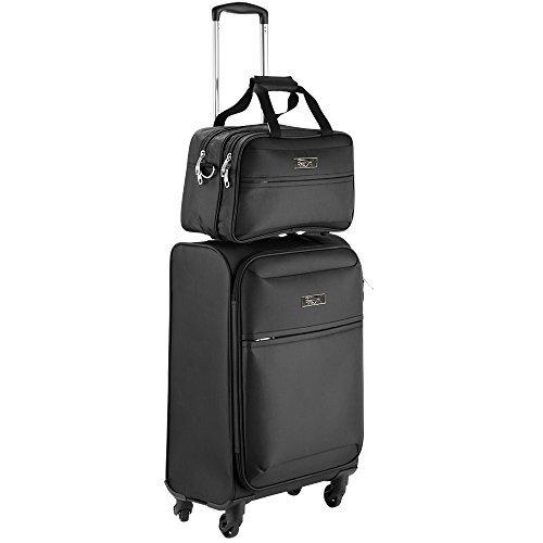 Cabin Max Copenhagen | Bagaglio a mano approvato per il volo 55x40x20cm | Inclusa piccola borsa da...