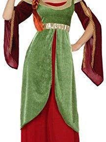 ATOSA disfraz dama medieval mujer adulto reina M