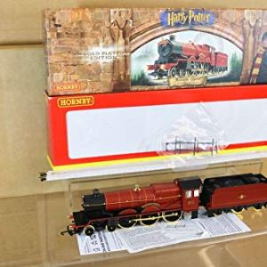 Railway HORNBY R2310 BR 4-6-0 HOGWARTS EXPRESS LOCO 5972 HARRY POTTER GOLD EDITION 41w4WUZV36L