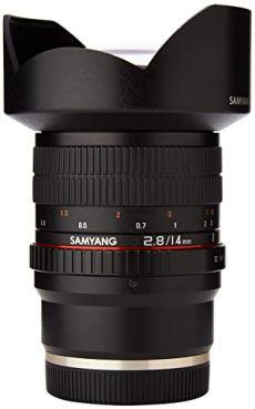 Samyang F2.8 14 mm IF ED UMC - Objectivo para Sony-E, color negro