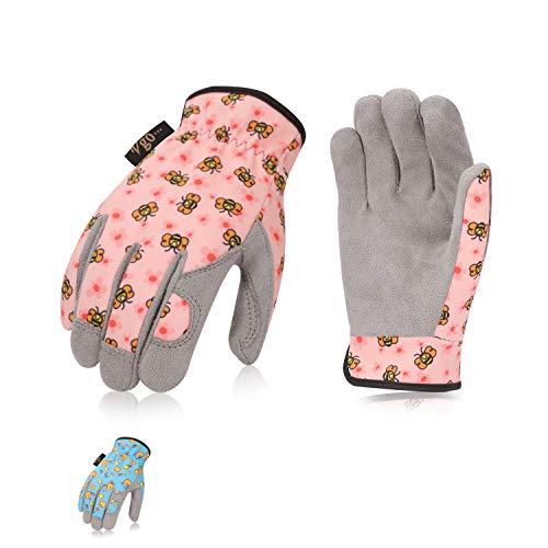 Vgo 2 Paia per bambini di 2-4 anni, guanti invernali per bambini, guanti caldi bambini, guanti da...