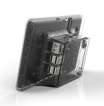 Raspberry Pi LCD Touchscreen Case [clear]