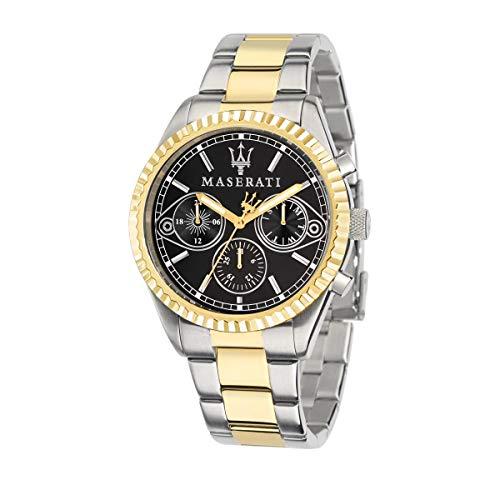 MASERATI Orologio Cronografo Quarzo Uomo con Cinturino in Acciaio Inox R8853100016