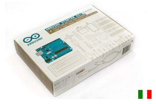 ARDUINO STARTER KIT ORIGINALE CON LIBRO 15 PROGETTI in ITALIANO Questo kit ti guida attraverso le basi di Arduino sperimentando, con progetti creativi, costruisci mentre apprendi, grazie ad una selezione di componenti elettronici più comuni e...