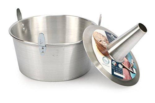 Pentalux 03927 - Bakery Line - Stampo torta in alluminio con cono estraibile, alluminio, Diametro 26...